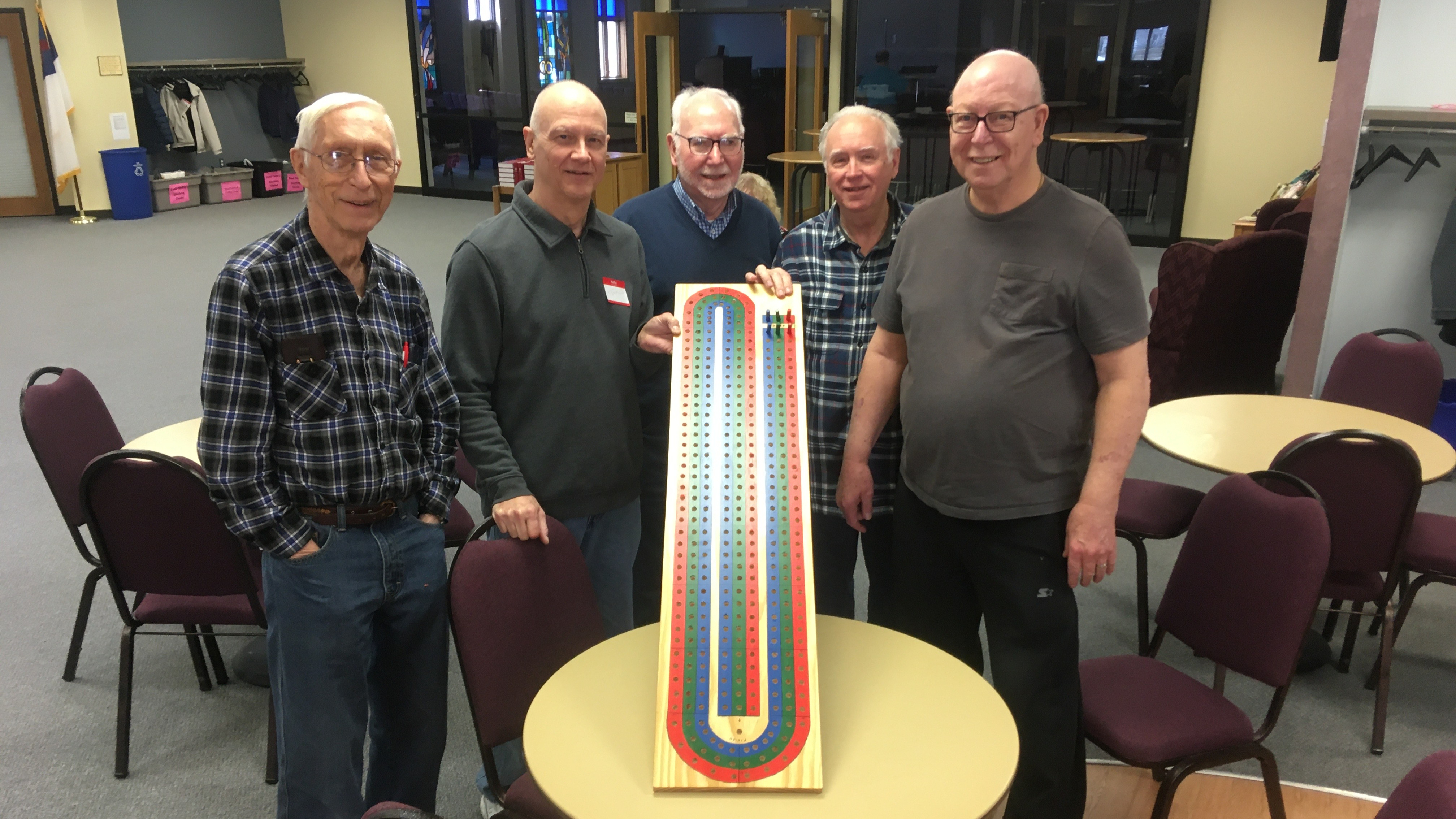Cribbage with big board.jpg